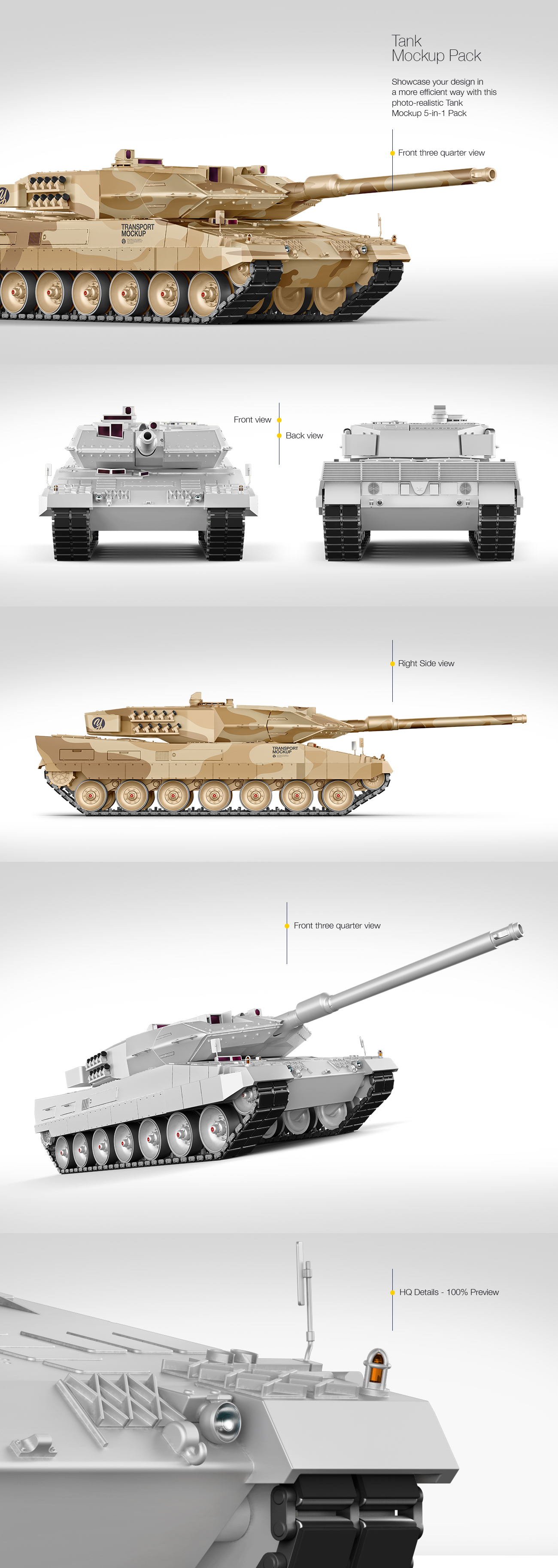 Tank Mockup Pack
