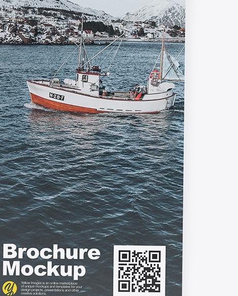 Three Brochures Mockup