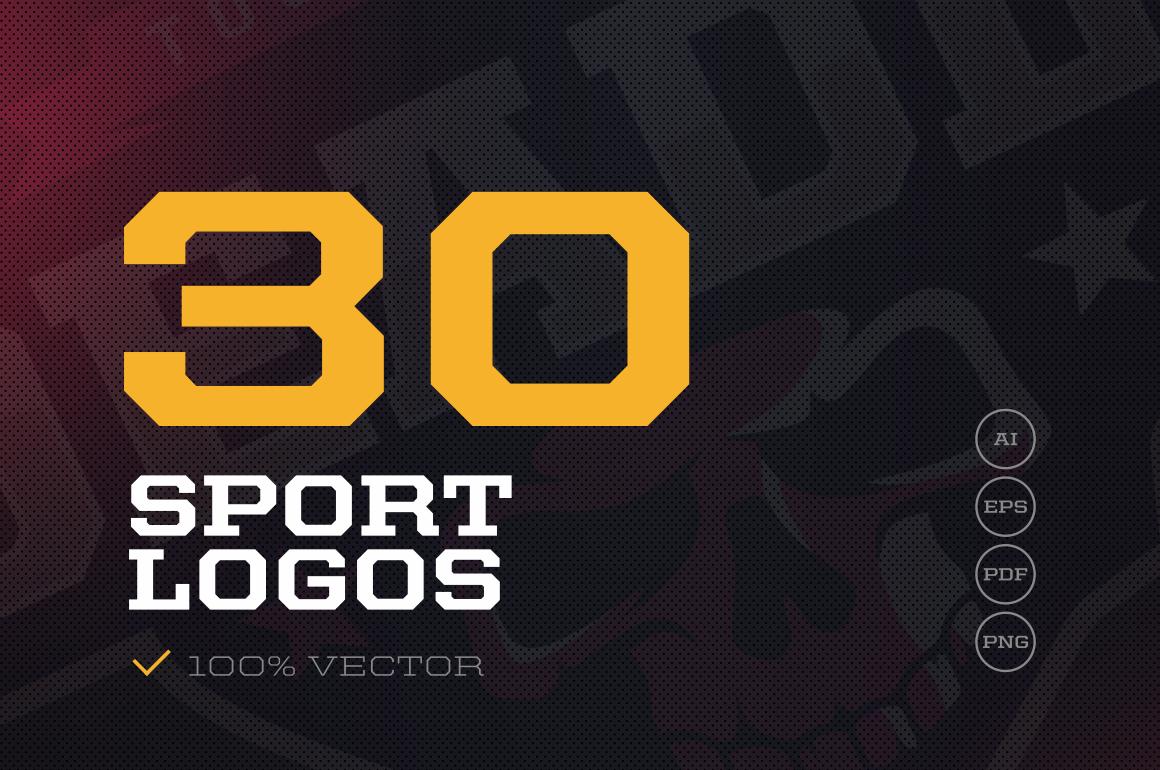 30 sport logos
