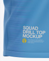 Men's Squad Drill Top - Front Half-Side View