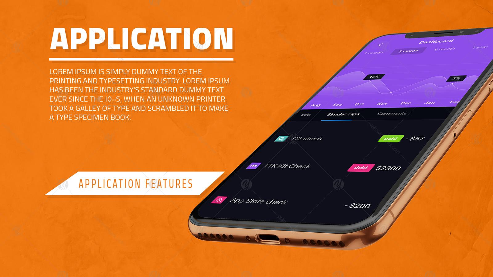 iPhone X App Promotion