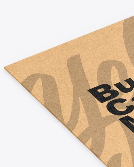Kraft Business Card Mockup