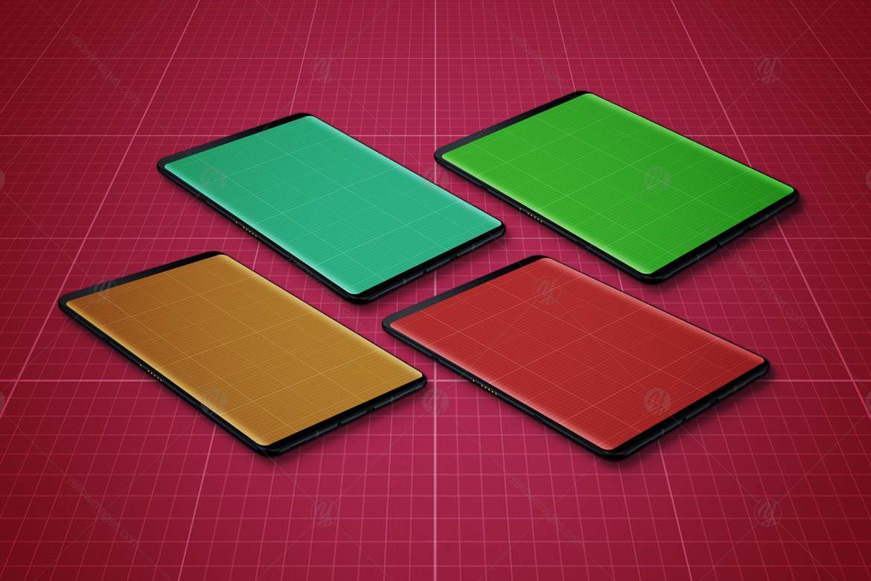 S9 Tablet Mockup