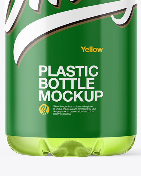 Plastic Drink Bottle Mockup
