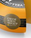 Cheese Wheel Mockup