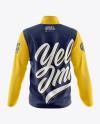 Men's Wind Jacket Mockup