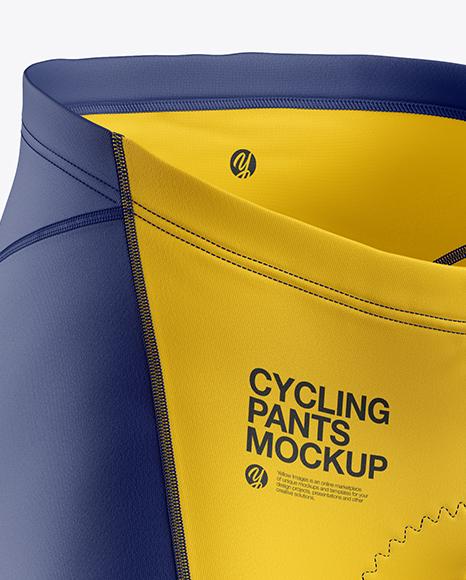 Cycling Pants Mockup