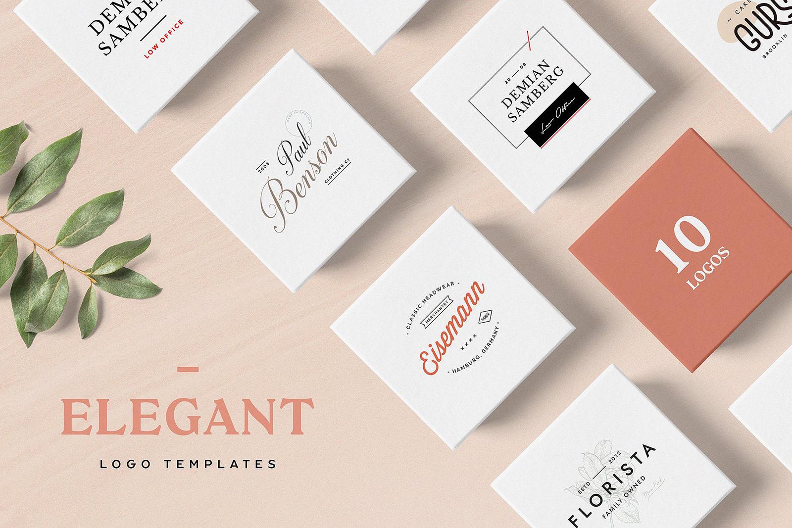 Elegant Logo Templates