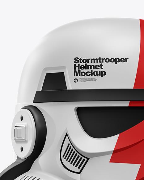 Download Matte Stormtrooper Helmet Mockup Yellowimages