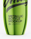 Metallic Tonic Bottle