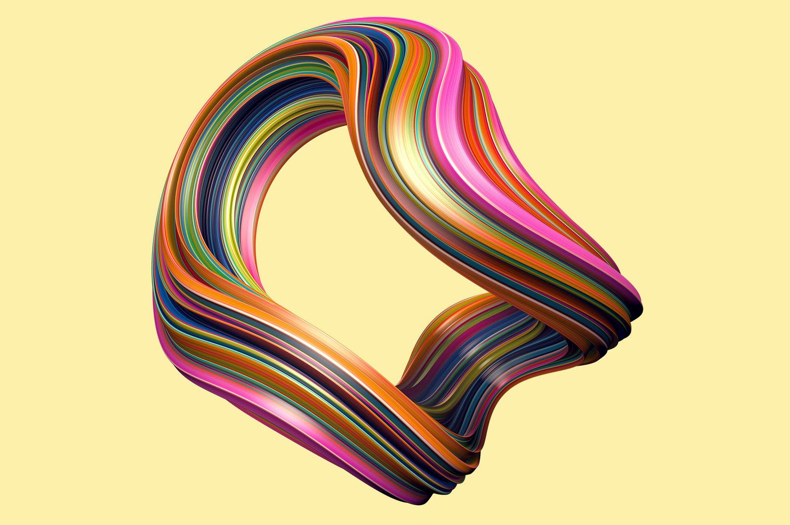 Twist: Swirling 3D Shapes