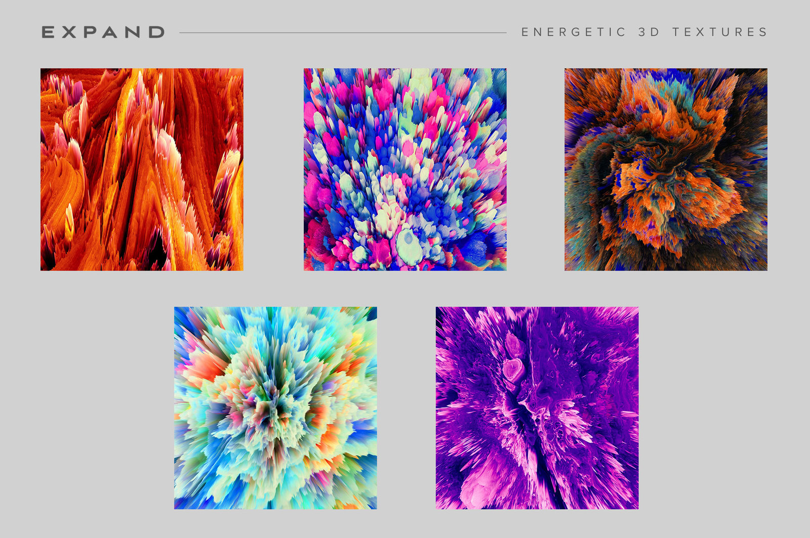 Expand: Energetic 3D Textures
