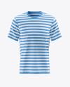 Men's Short Sleeve T-Shirt Mockup - Front View