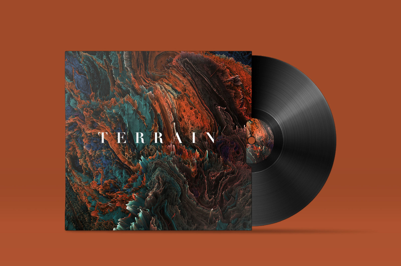 Terrain, Vol. 1: Abstract 3D Landscapes