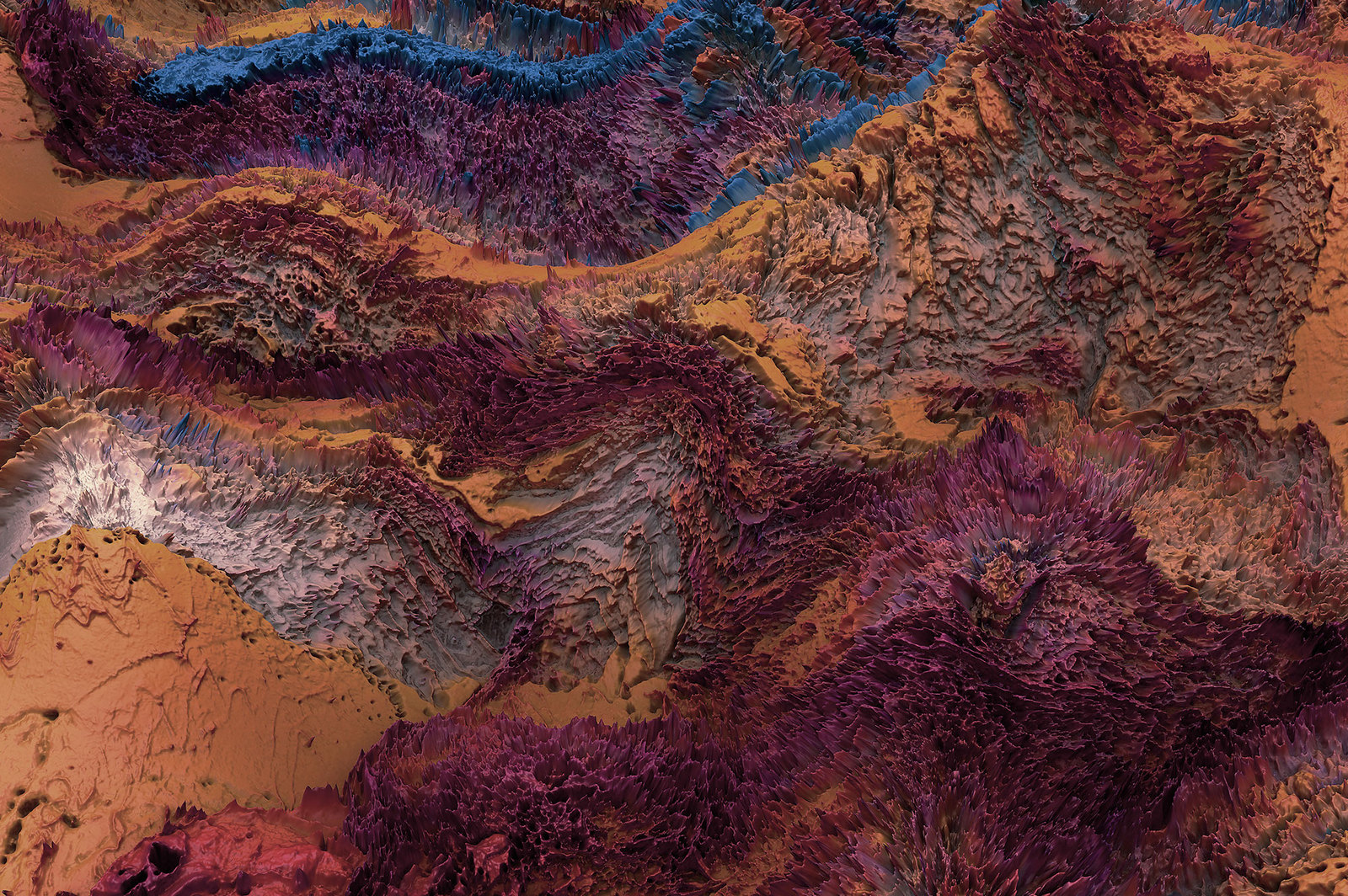 Terrain, Vol. 2: Abstract 3D Landscapes