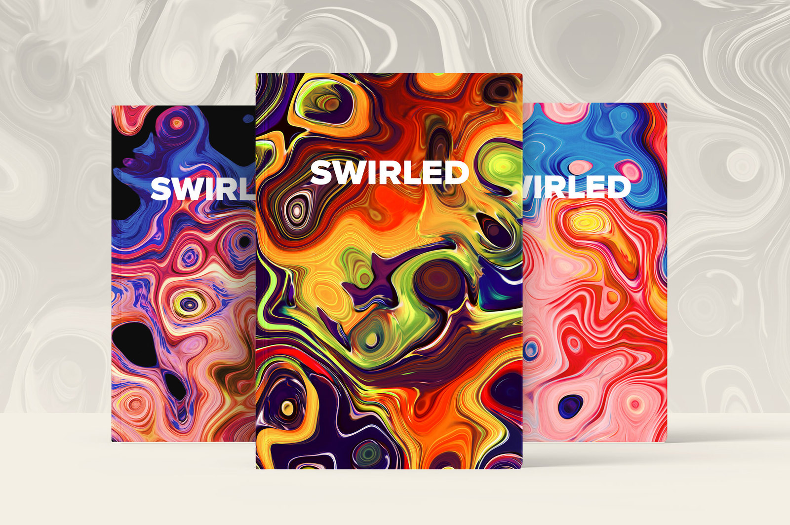 Swirled, Vol. 2: 15 Abstract Marble Textures