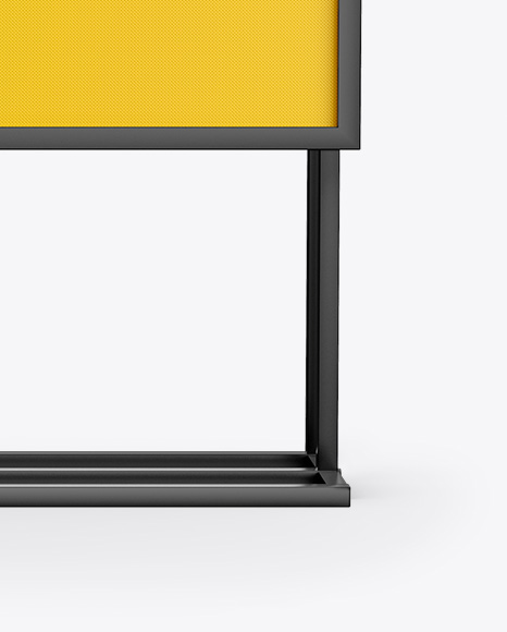 Banner Stand Mockup - Front View