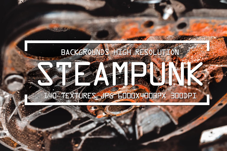 Grunge textures steampunk rusty urban