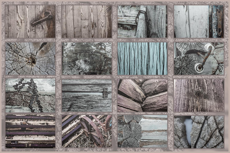Farmhouse wood textures vintage rustic overlays