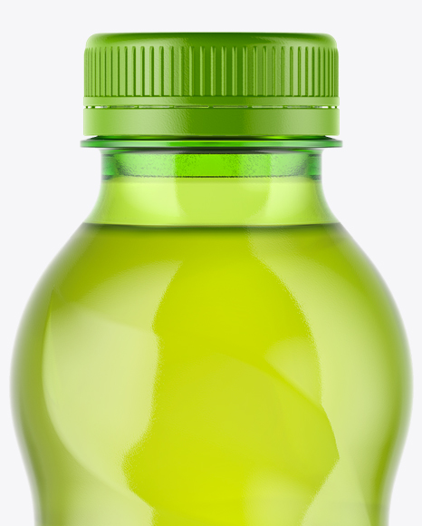 0,5L Iced Green Tea Bottle Mockup