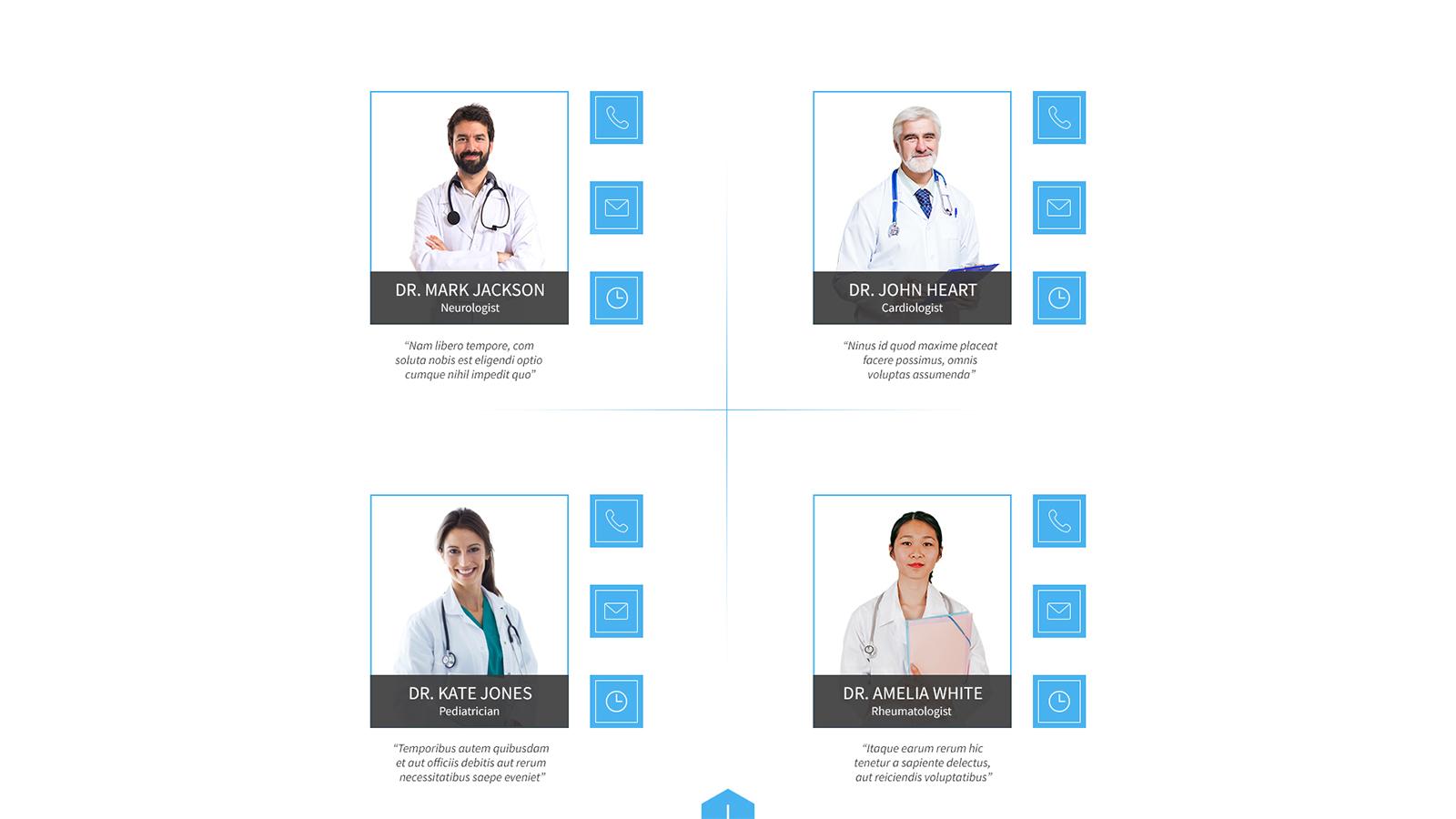 iMedica Layout - 10 screens