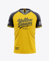 Men's Soccer Jersey Mockup - Front View Of Soccer T-Shirt