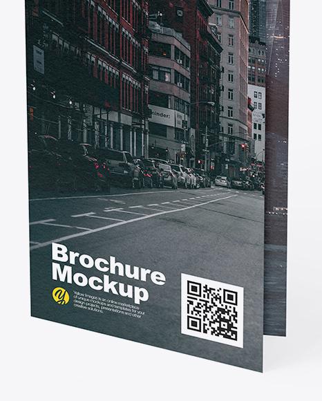 Textured Brochure Mockup