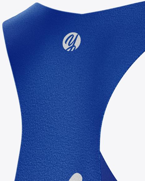 Women's Fitness Kit Mockup - Half Side View