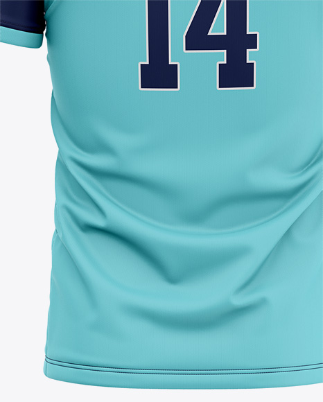 Men's Soccer Jersey Mockup - Back View Of Soccer T-Shirt