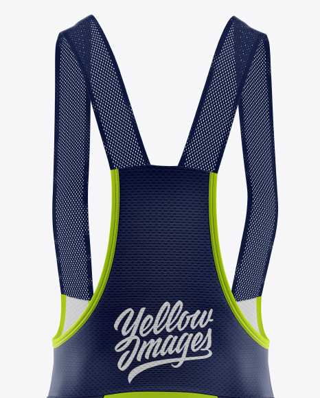 Women's Cycling Bib Mockup