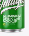 Glossy Aluminium Can Mockup