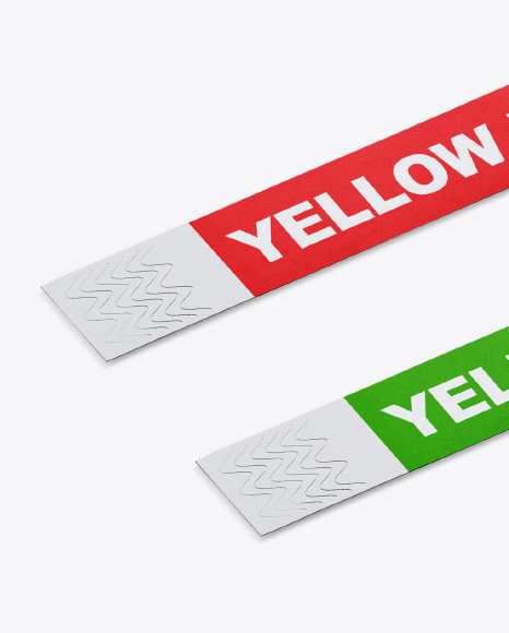Download Silicone Wristbands Mockup Yellowimages