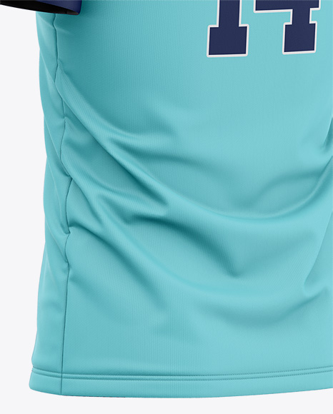 Download Download Womens Soccer Jersey Mockup Back Half Side View ...