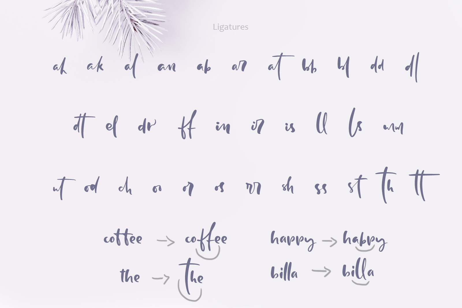 Holly Jolly Hand Drawn Font