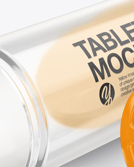 Download Tablets Tube Mockup PSD - Free PSD Mockup Templates