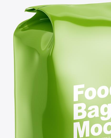 Food Bag w/ Beans Mockup