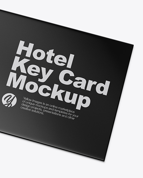 Two Key Card Holders Mockup