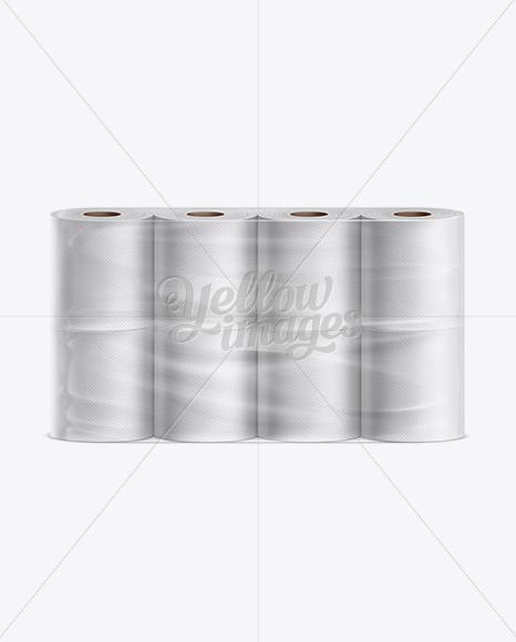 Download Toilet Tissue 8 pack Mockup Free Mockups