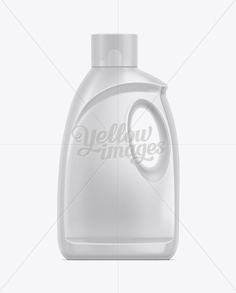 2.12kg Dishwasher Detergent Bottle Mockup