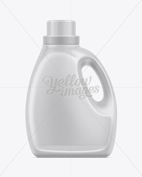 2.66L Liquid Laundry Detergent Bottle Mockup