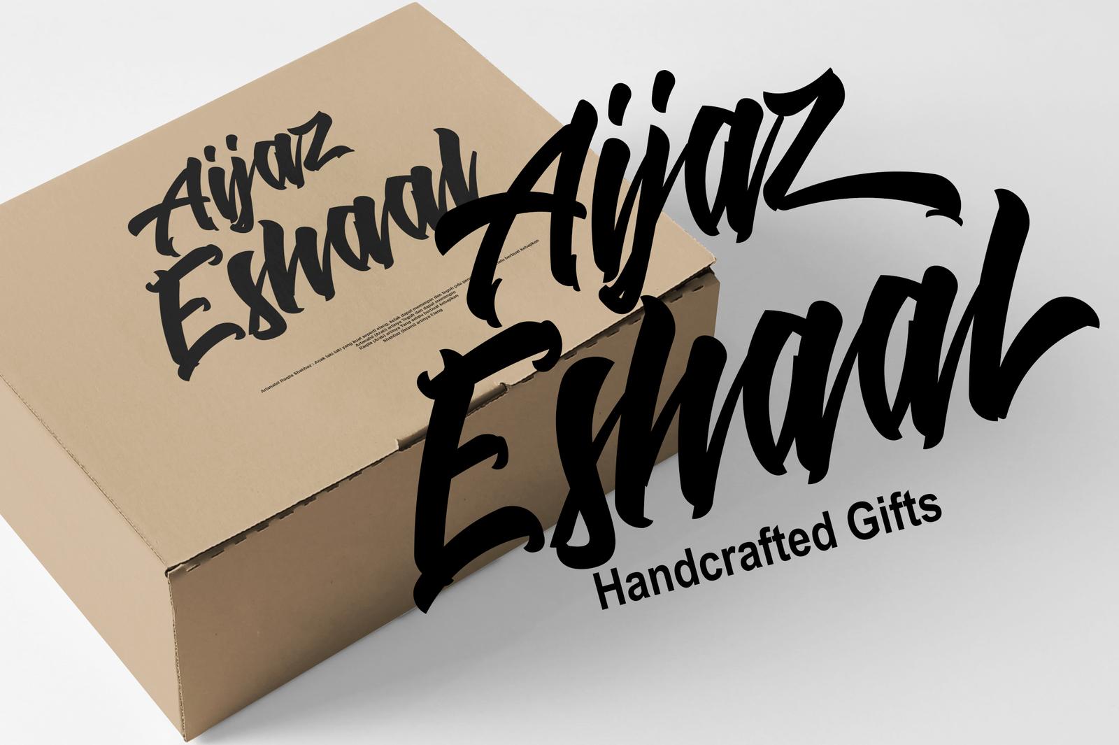 Ashaal Typeface