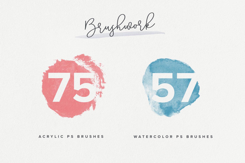 Brushwork for ProCreate & Photoshop