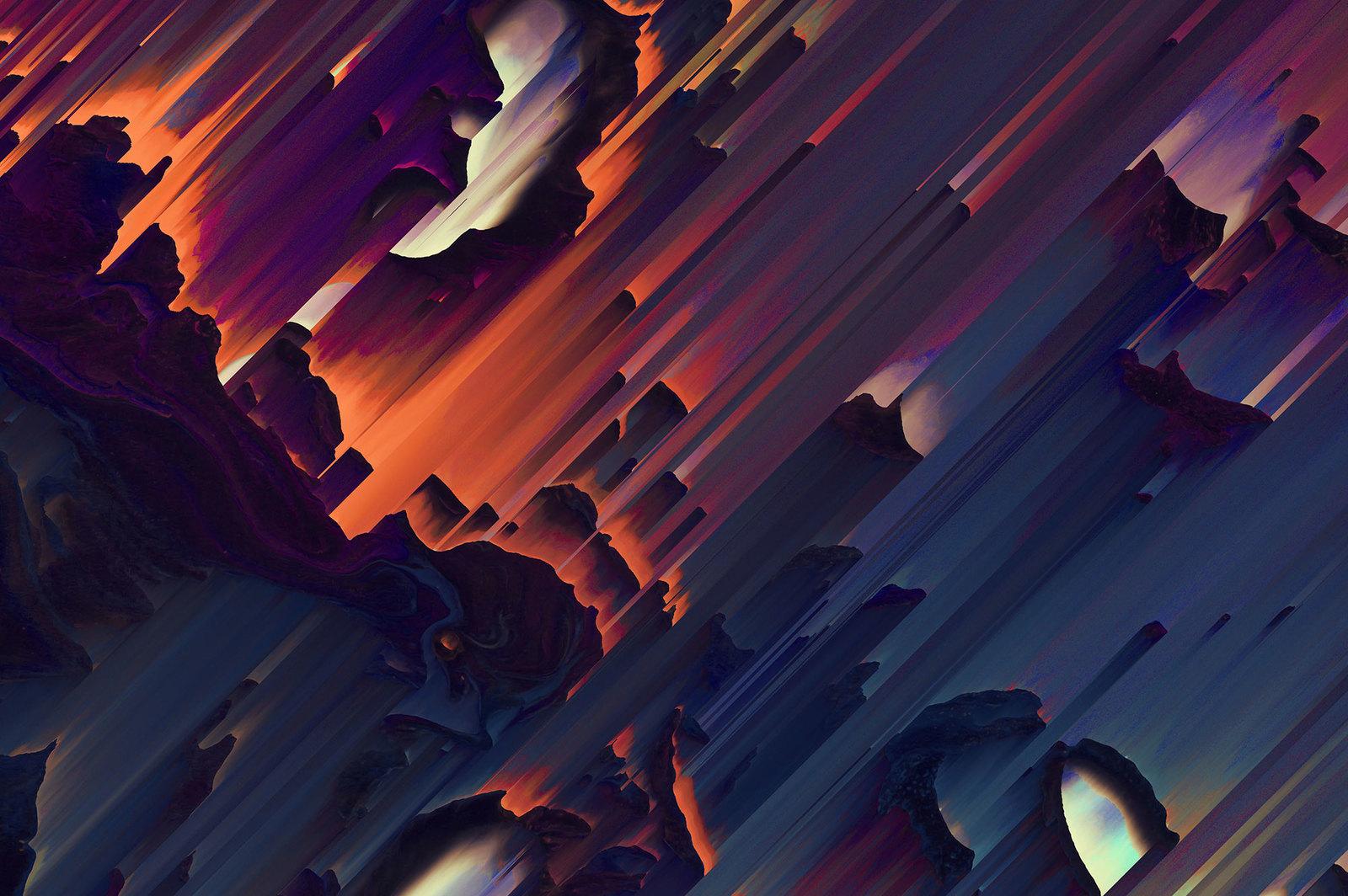 Sorted: 12 Pixel Sorted Textures