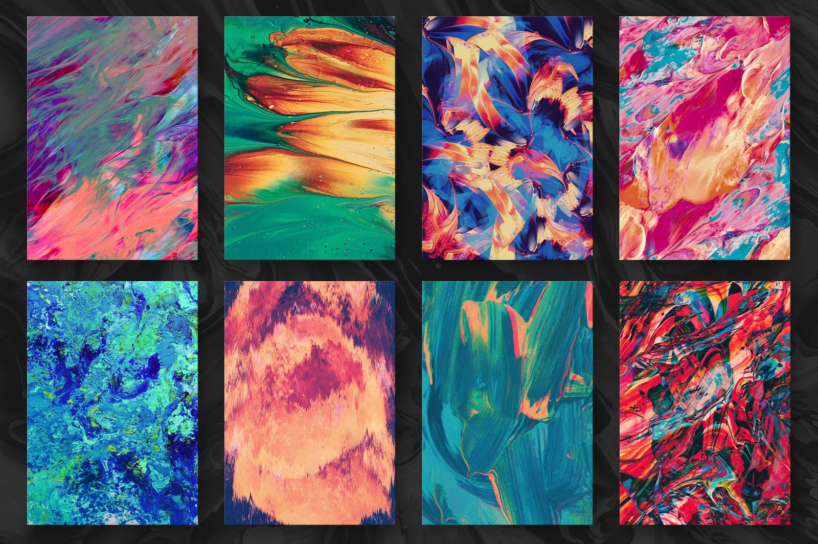 Abstract Paint Remix, Vol. 1
