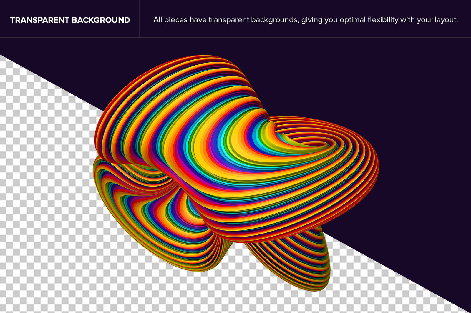 Coiled: Dynamic 3D Shapes