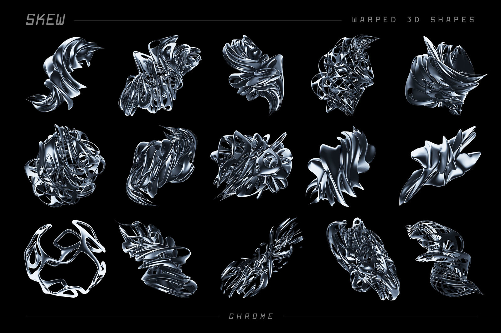 Skew: Warped 3D Shapes