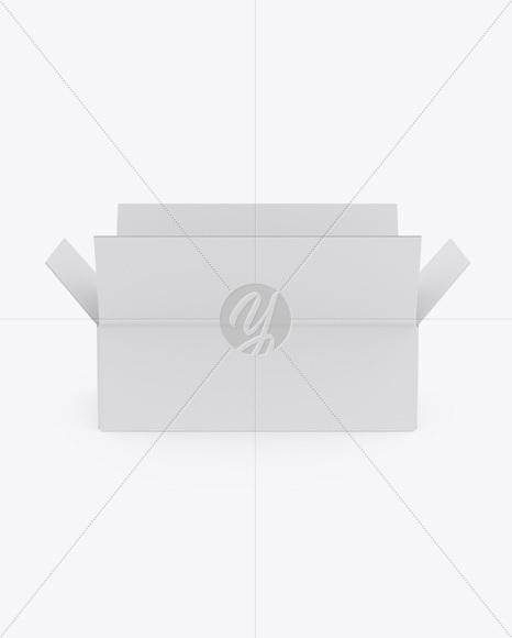 Matte Opened Box Mockup