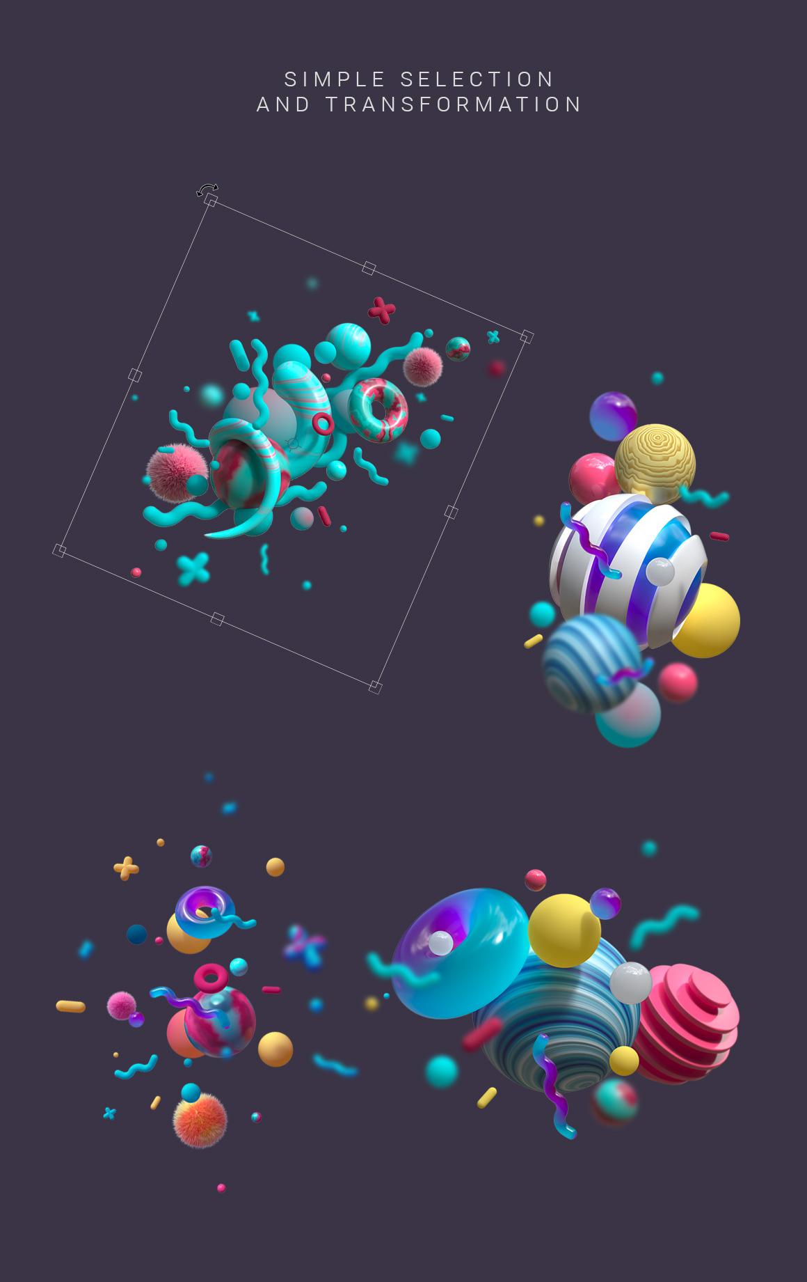 3D Suprematism