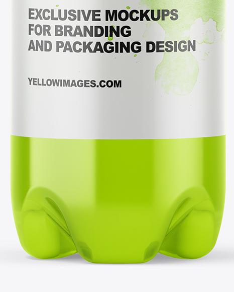 400ml Plastic Drink Bottle Mockup