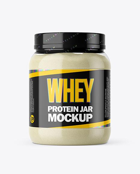 Download Protein Jar PSD Mockup